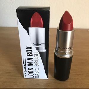 Mac Look in a Box brush lipstick canister